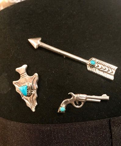 TB Arrow Hat Pin