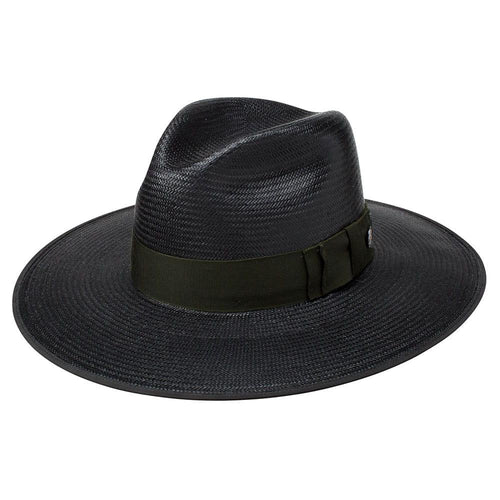 Stetson Tri-city Black Straw