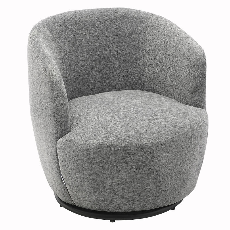 Fabric Upholstered Lounge Swivel Chair Corner Cuddle Sofa Armchair