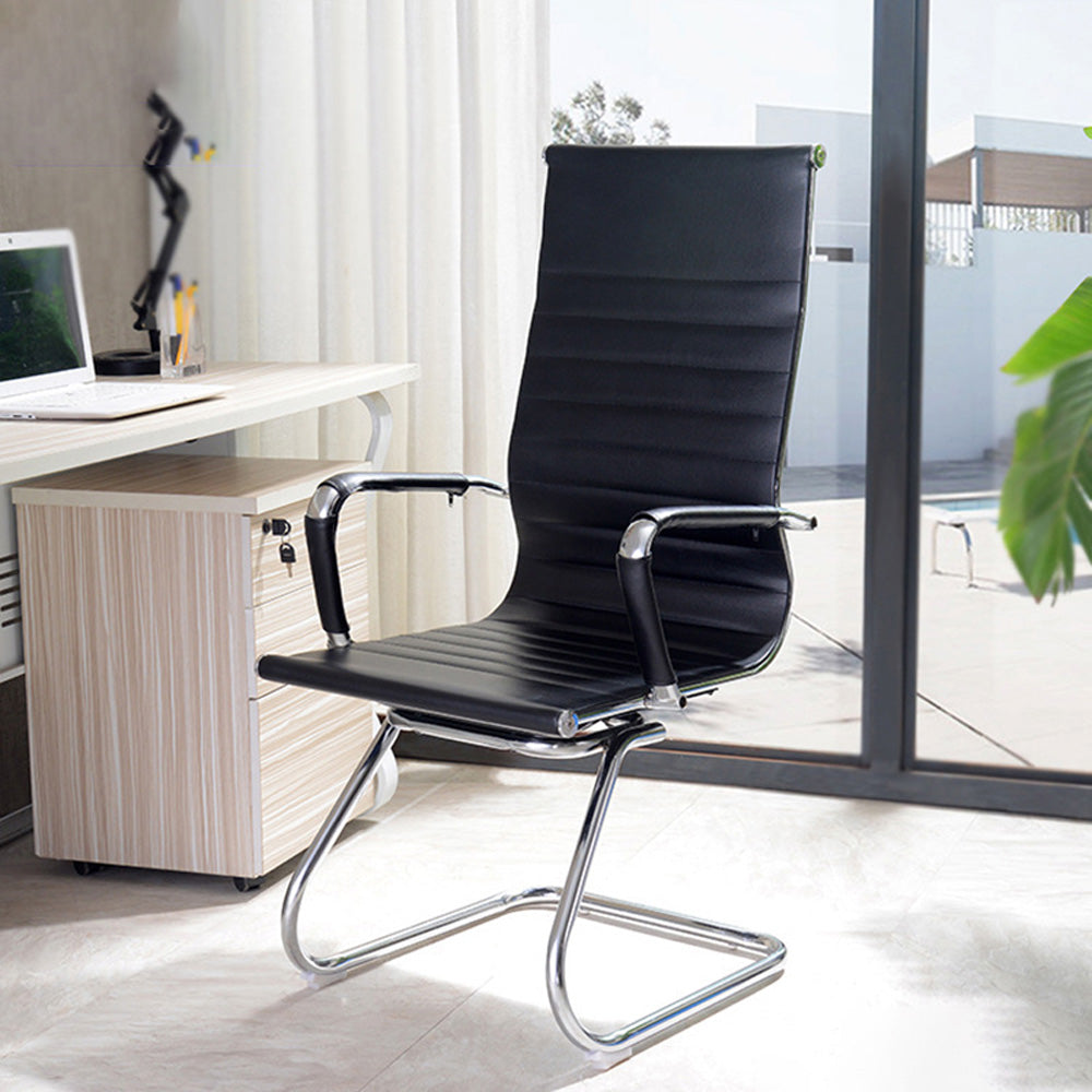 High-back PU Leather Cantilever Office Chair