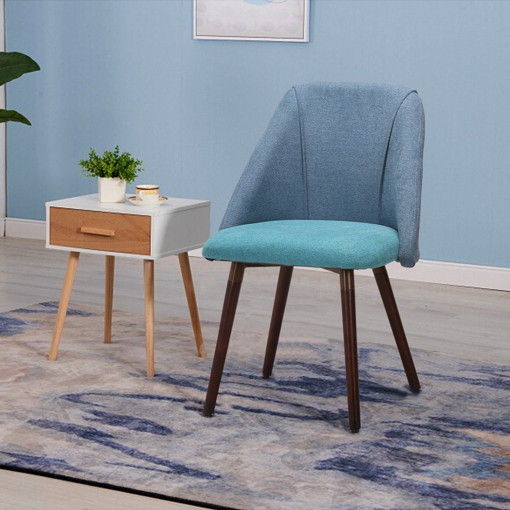 Set of 2 Cool Simple Dining Chairs
