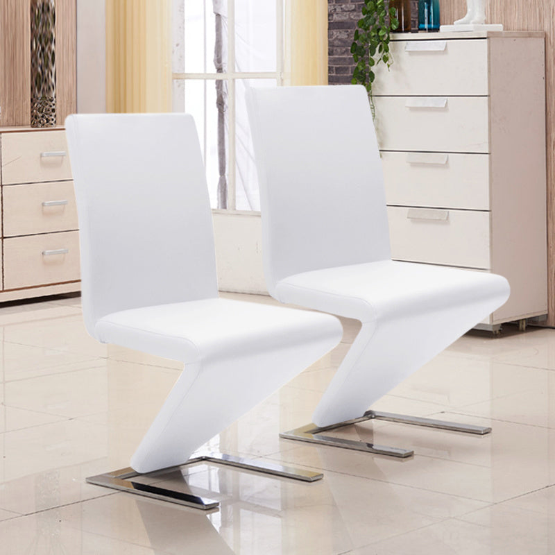 Set of 2 Mermaid Leather Chairs