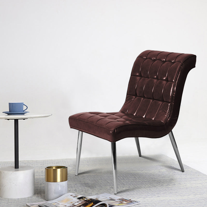 Waving Lounge Leather Chair