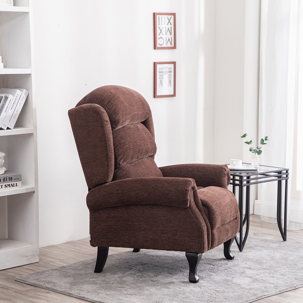 Fluffy Lined Corduroy Armchair