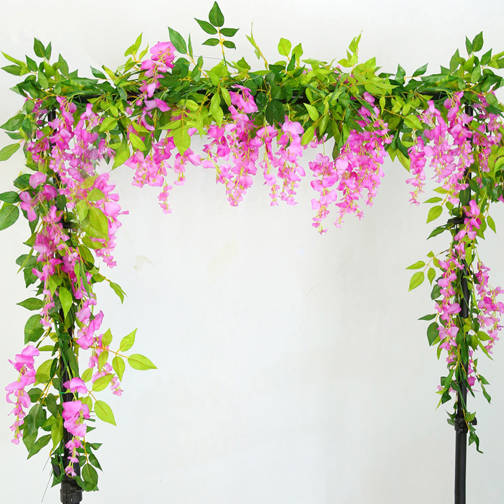 2pcs of Realistic Artificial Trailing Flower Vine