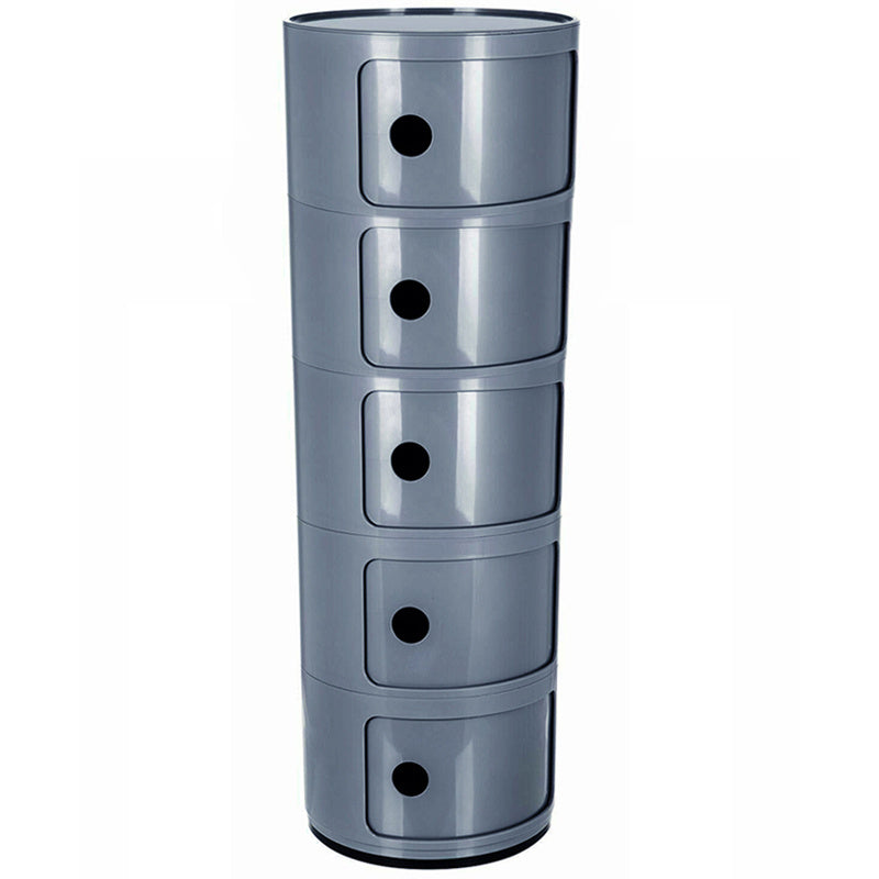 5-Tier Multifunctional Round Storage Cabinet