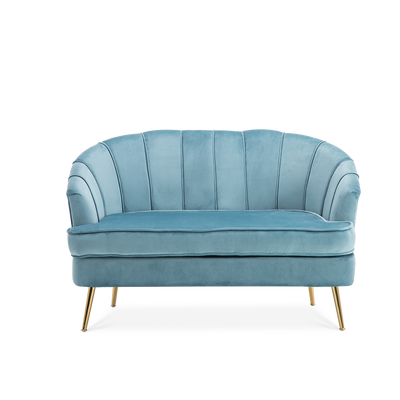 2 Seater Rose Velvet Sofa - Lifelook Store