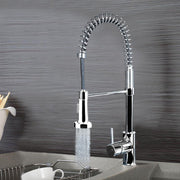 Modern Chrome Brass Kitchen Stream/Spray Faucet Mixer Tap