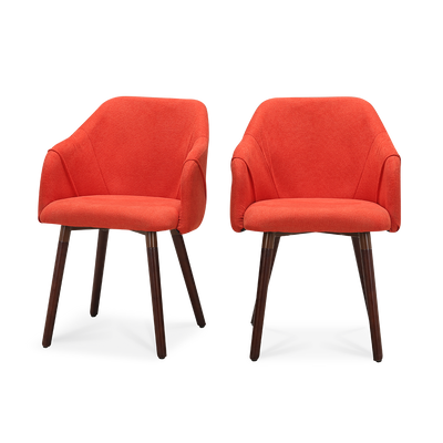 Set of 2 Cool Plus Dining Chairs with Dark Legs - Lifelook Store