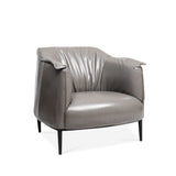 Koyi Vogue Leather Accent Armchair - Lifelook Store