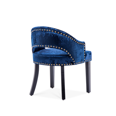 Ice Crushed Velvet Low-backed Dining Chairs - Lifelook Store