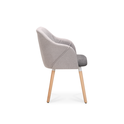 Set of 2 Cool Plus Dining Chairs with Natural Legs - Lifelook Store