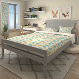 4/5/4.6FT Pine Wood Bed Frame Double King Size Bedstead
