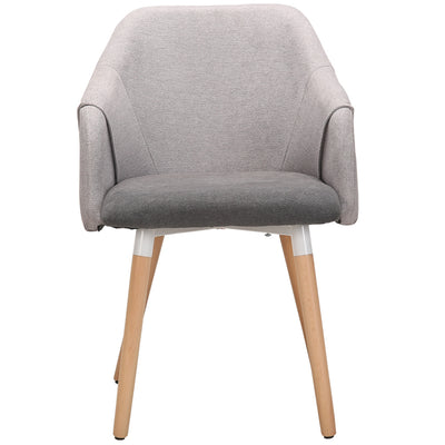 Cool Plus Dining Chair with Natural Legs