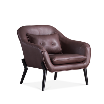 Buto Microfiber Leather Accent Armchair - Lifelook Store
