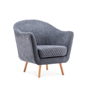 Super Cosy Diamond Linen Tub Chair - Lifelook Store