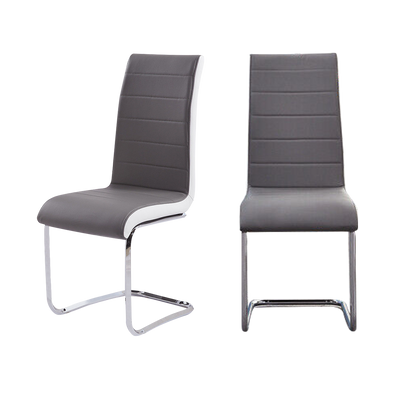 Set of 2 Holine Leather Cantilever Chairs - Lifelook Store