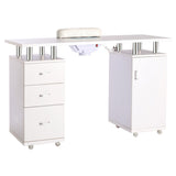 Modern Manicure Spa Desk with Nails Collector - Lifelook Store