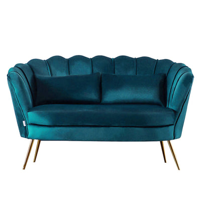 2 Seater Lotus Velvet Sofa