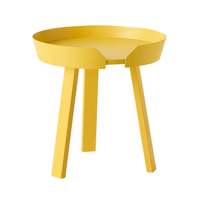 Small Wooden Round Side Table - Lifelook Store