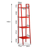 4-Tier Metal Storage Ladder Shelf - Lifelook Store