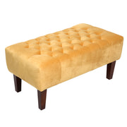 Chesterfield Velvet Bench - Lifelook Store