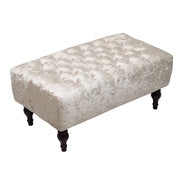 Chesterfield Ice Crushed Velvet Bench