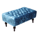 Chesterfield Ice Crushed Velvet Bench - Lifelook Store