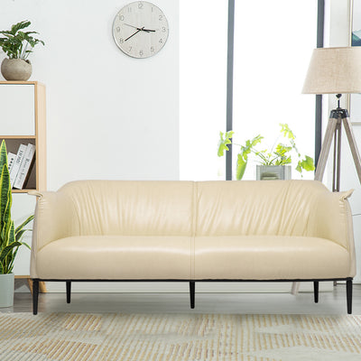 3 Seater Koyi Vogue Fold Leather Sofa