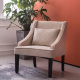 Upholstered Dining Chair Buttoned Chair Accent Armchair Lounge Chair