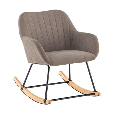 Recliner Rocking Rocking Chair Wing Back Armchair