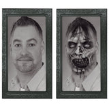 Halloween 3D Spooky Scary Portrait Picture Changing Face Photo