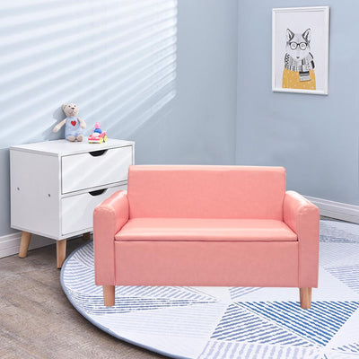 Kid Mini Storage Sofa Relaxing Chair