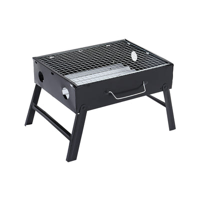 Portable Folding Charcoal BBQ Barbecue Grill Camping Picnic