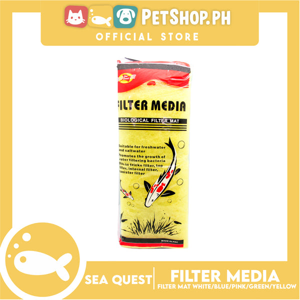 Sea Quest Filter Media Matte 6 Color Bio Wool