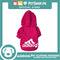 Adidog Pet Clothes Hoodies, Dog Winter Hoodies Apparel Puppy Cute Warm Hoodies Coat Sweater (Pink) (Medium)