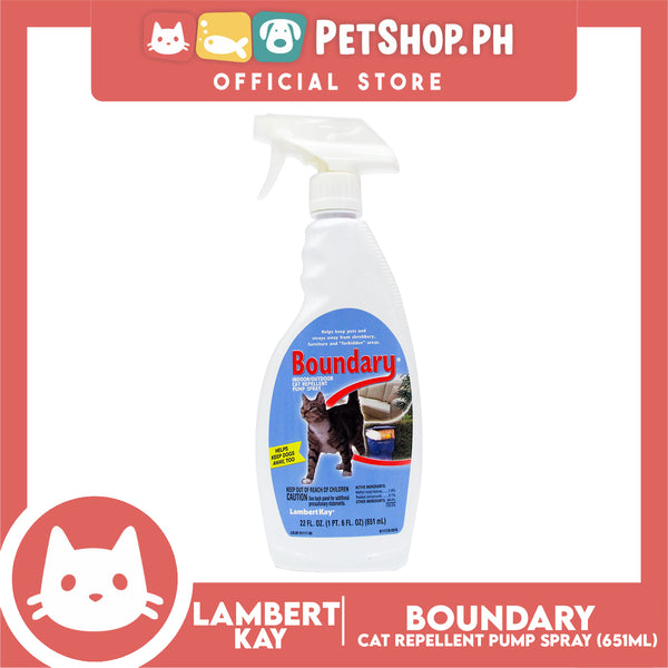 Lambert Kay Boundary Indoor/ Outdoor Cat Repellant Pump Spray 651mL