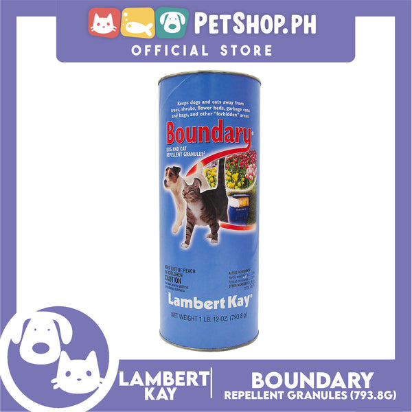 Lambert Kay Boundary Indoor/ Outdoor Dog and Cat Repellant Granules 793.8g