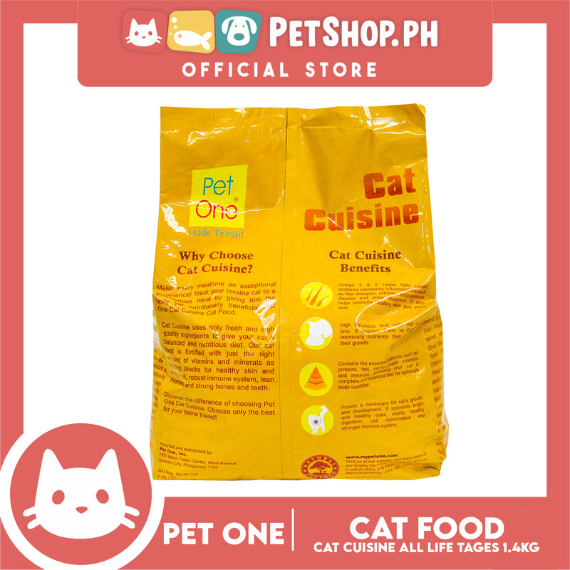 Pet One Cat Cuisine 1.4KG
