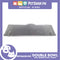 Petshop.ph P664 Square Double Bowl Small Gray