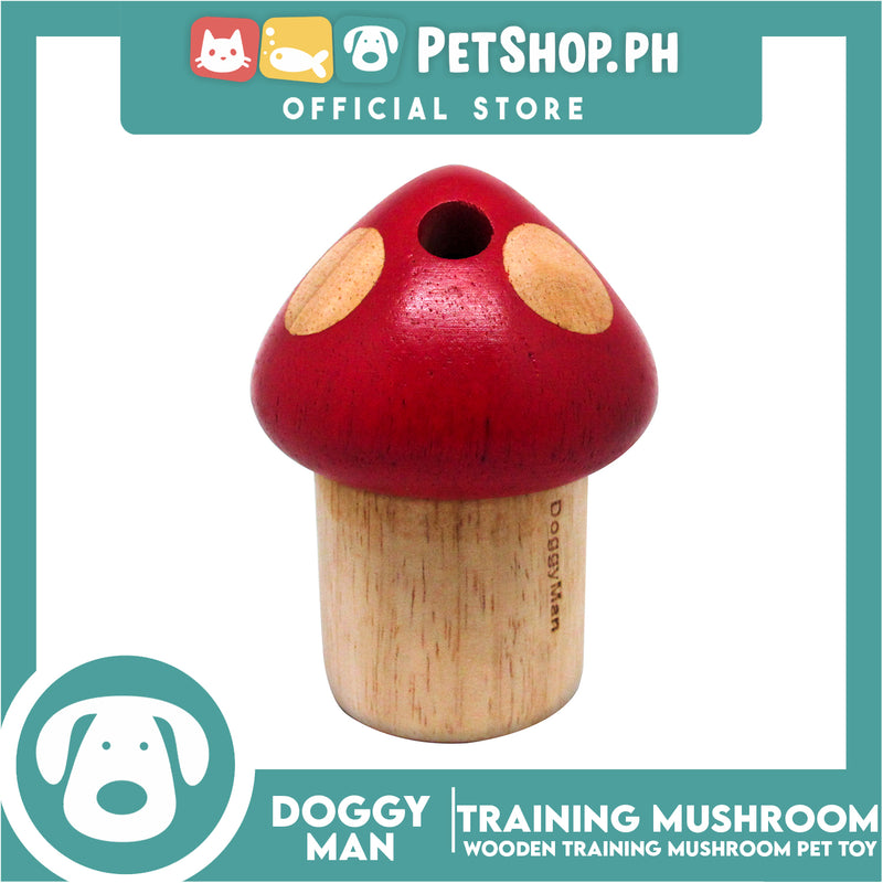 Doggyman Wooden Training Toy IQ Mushroom (85622)