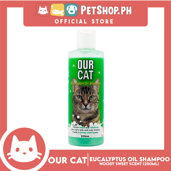 Our Cat Eucalyptus Oil Shampoo 250mL