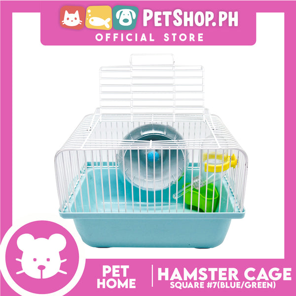 7# Square Hamster Cage