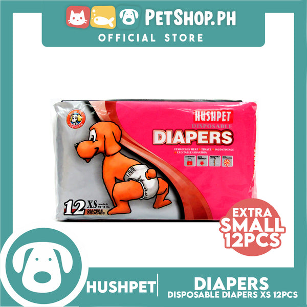 Hushpet Deluxe Diaper Extra Small