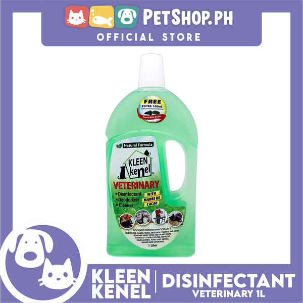 Kleen Kenel Fresh Mint (Cleaner, Deodorizer, Disinfectant) 1L