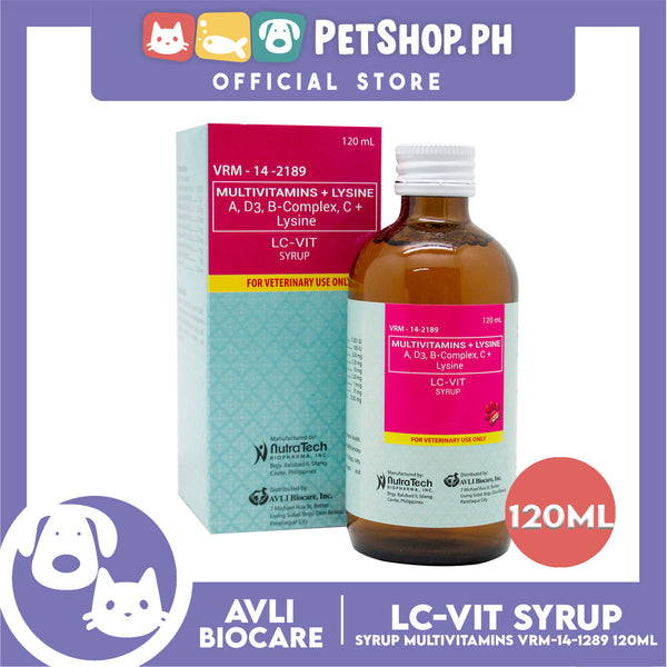 NutraTech LC-VIT Syrup 120mL