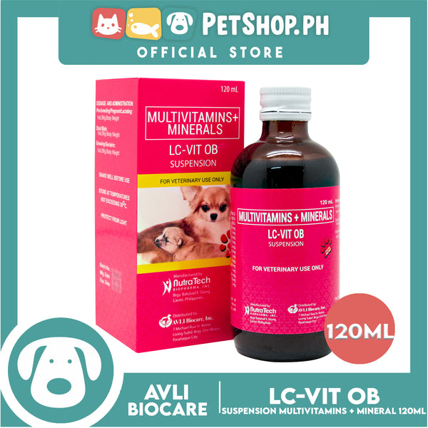 NutraTech LC-VIT OB Suspension 120mL