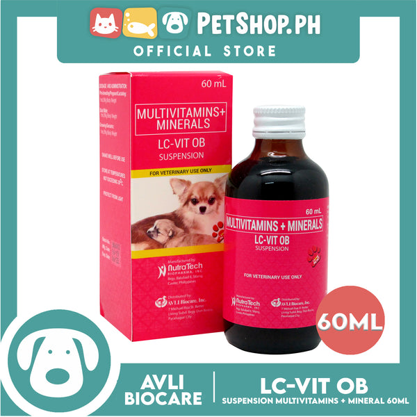 NutraTech LC-VIT OB Suspension 60mL