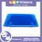 P637 Square Single Bowl Large Blue