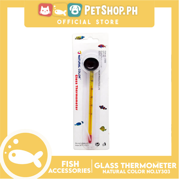 Glass Thermometer Long LY303